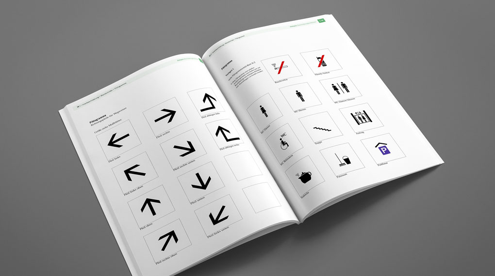 Auszug aus Design Manual für die Asklepios Kliniken