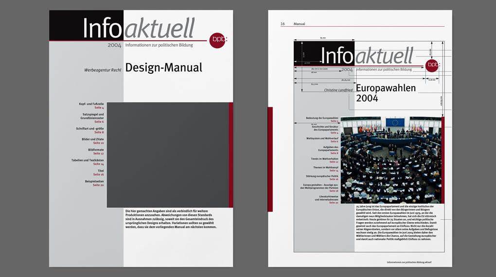 Bundeszentrale für politische Bildung Design Manual