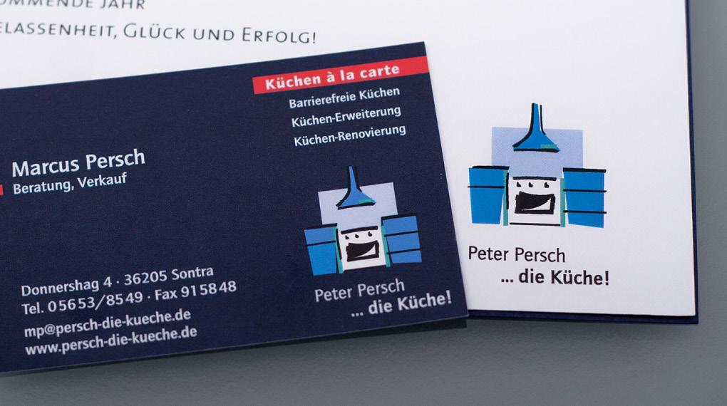 Peter Persch die Küche Logo