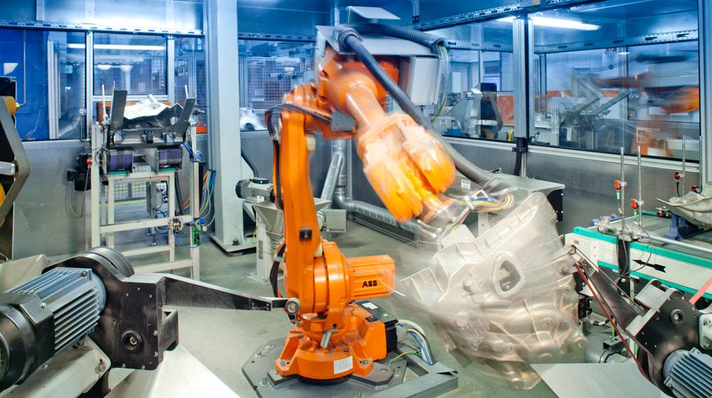 Bearbeitungs-Roboter für Aluminium-Fahrzeugteile