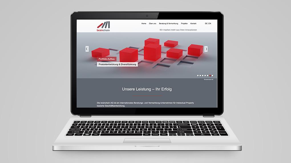 responsive Website für ein internationales Beratungs- und Vermarktung-Unternehmen