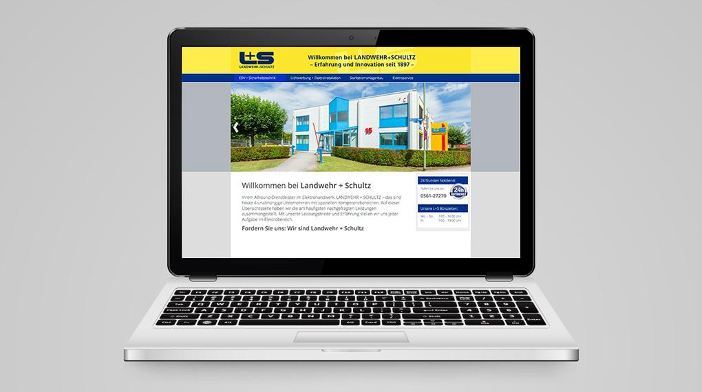 responsive Website für LANDWEHR+SCHULTZ