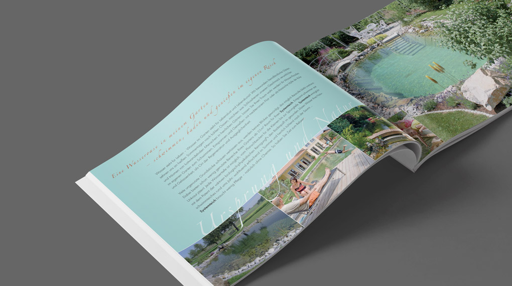 Image-Broschüre | Systemteich GmbH