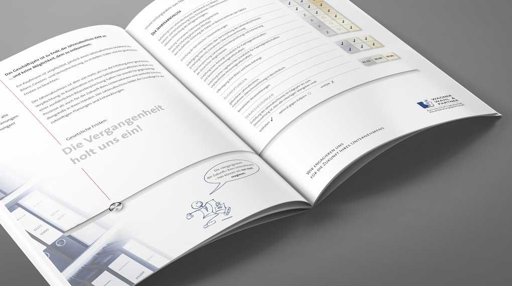 Image-Broschüre | Wagner, Wahl & Partner Steuerberatungsgesellschaft