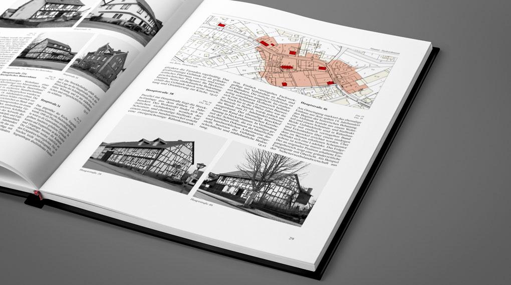 Innenseiten aus der Denkmaltopographie Kreis Kassel II