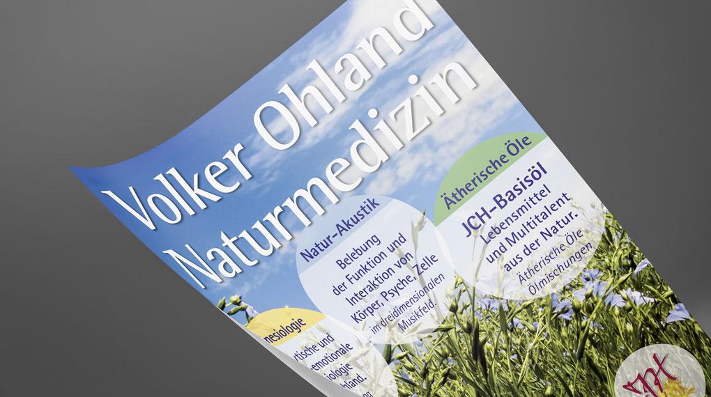 Plakat | Volker Ohland Naturmedizin