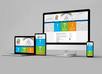 Darstellung Website Bardt Maler & Verputzer auf unterschiedlichen Ausgabemedien